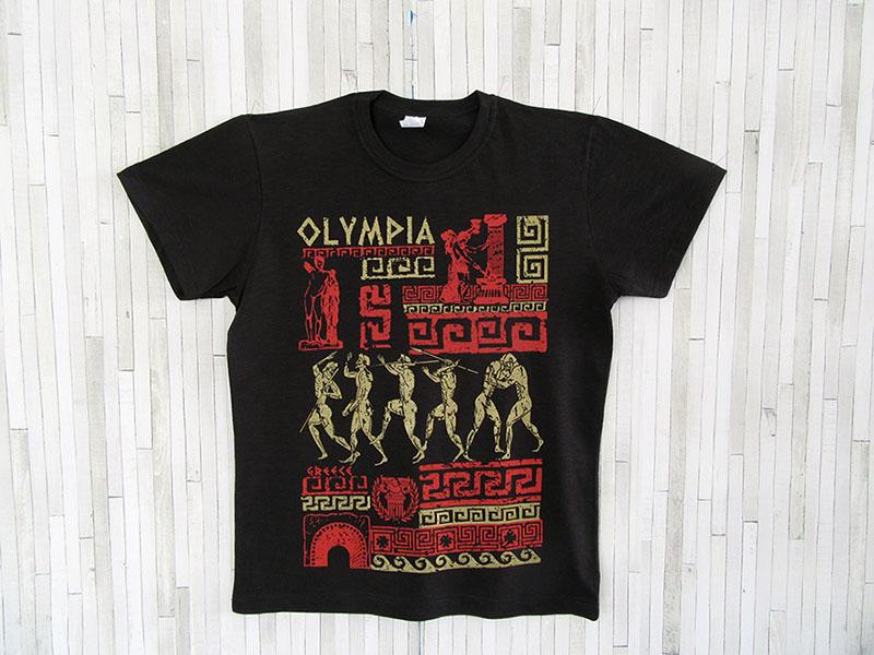 Μπλουζάκι Ενηλίκων - Ολυμπία