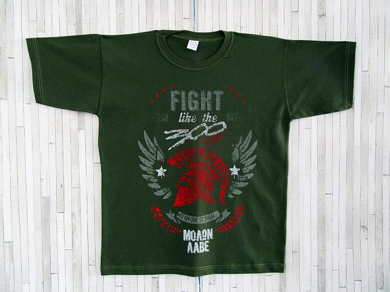 Μπλουζάκι Ενηλίκων - 300 Μολών Λαβέ