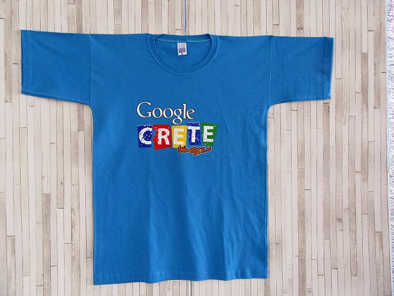 Μπλουζάκι Ενηλίκων - Google Crete