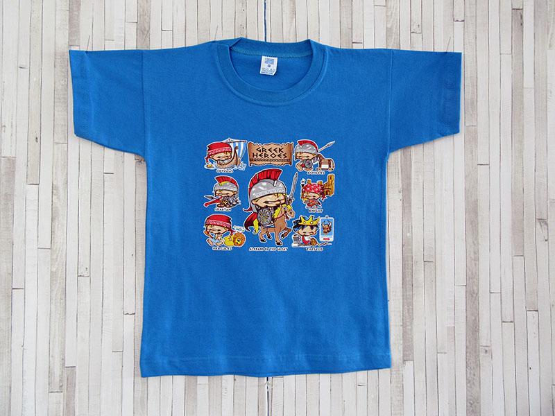 Παιδικό μπλουζάκι - Έλληνες Ήρωες