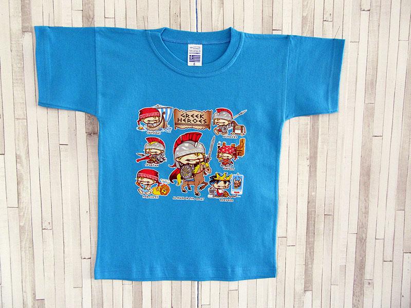 Παιδικό μπλουζάκι - Ήρωες