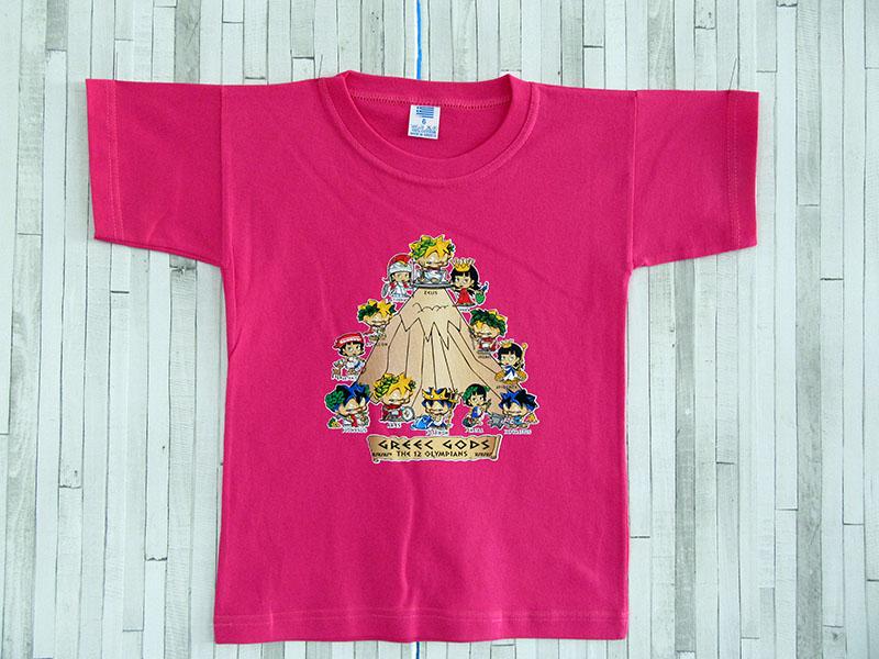 Παιδικό μπλουζάκι - Οι Θεοί του Ολύμπου