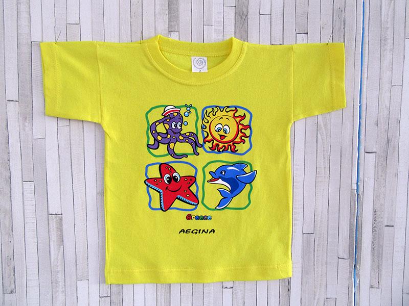 Παιδικό μπλουζάκι - Greece Aegina