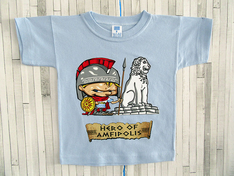 Παιδικό μπλουζάκι - Hero of Amfipolis