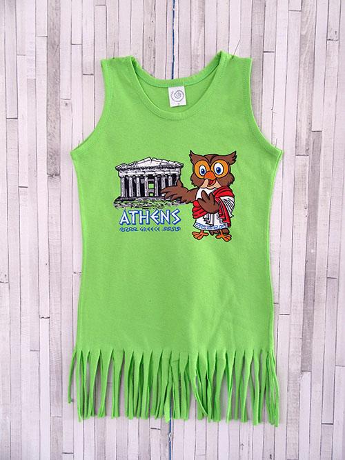 Παιδικό φορεματάκι κρόσι - Κουκουβάγια
