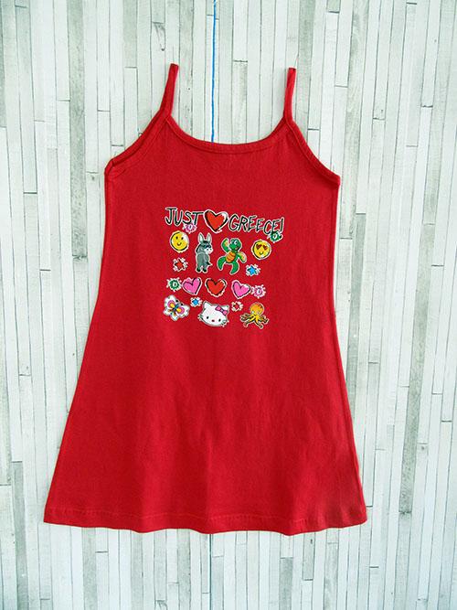 Παιδικό φορεματάκι ράντα - Just Love Greece