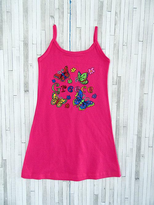 Παιδικό φορεματάκι - Greece Πεταλούδες