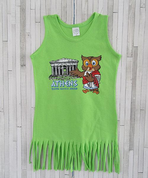 παιδικό φορεματάκι με κρόσια