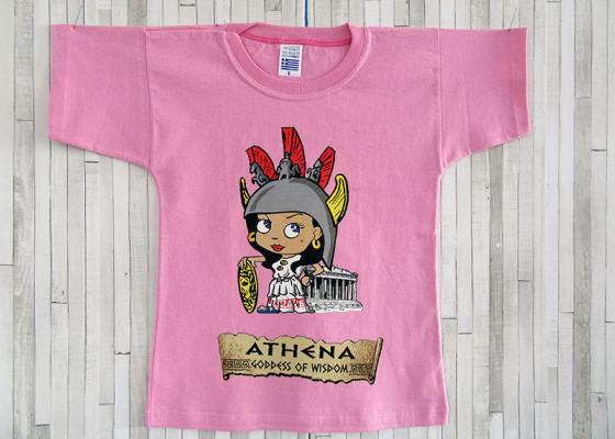 Παιδικό μπλουζάκι - Αθηνά η θεά της Σοφίας