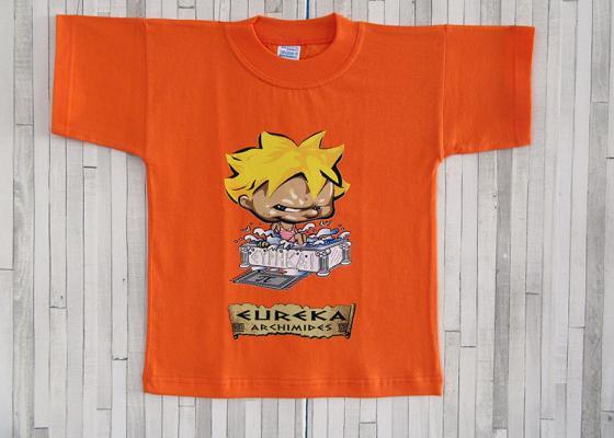 Παιδικό μπλουζάκι - Αρχιμήδης Εύρηκα
