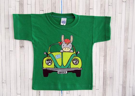 Παιδικό μπλουζάκι - Αυτοκίνητο