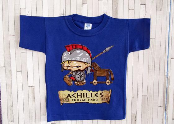 Παιδικό μπλουζάκι - Αχιλλέας