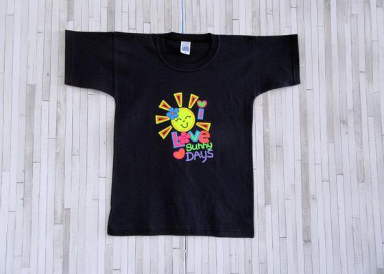 Παιδικό μπλουζάκι - I love sunny days