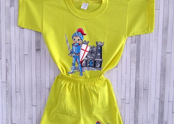 Παιδικό σετ μπλουζάκι σορτσάκι - Ιππότης