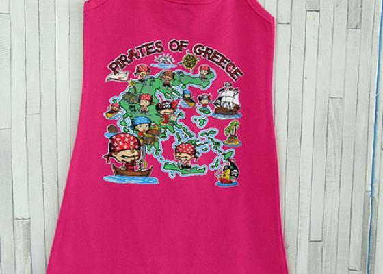 Παιδικό φορεματάκι - Pirates of Greece