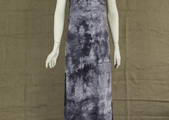 Γκρι φόρεμα ολόσωμο μακρύ