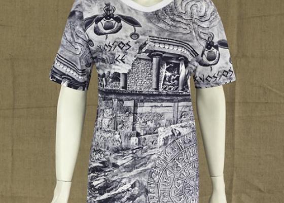 Κοντό φόρεμα Κνωσσός