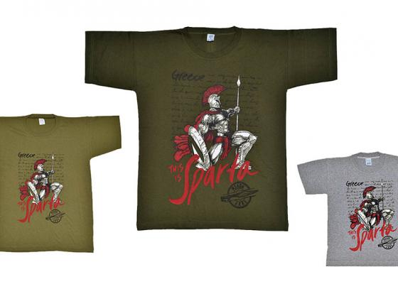 παιδικο μπλουζάκι this is sparta