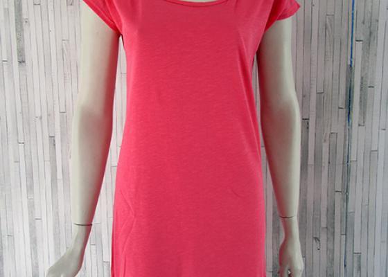 Κρόσσια - μακρύ φόρεμα ροζ